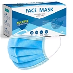 BOX OF 50 FACE MASKS